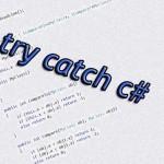 try catch c#