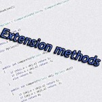 Extension methods C#