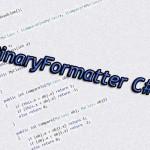 BinaryFormatter C#