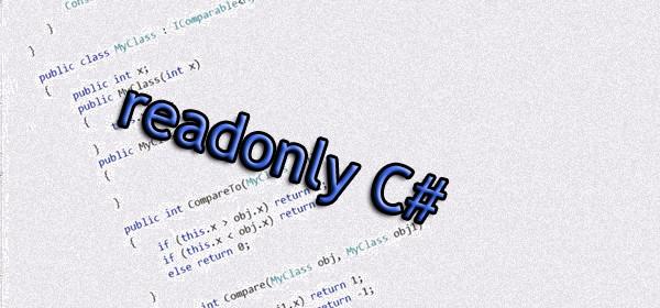readonly C#