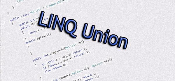 LINQ Union
